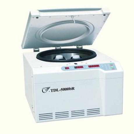 上海安亭TDL-5000bR低速冷冻多管离心机