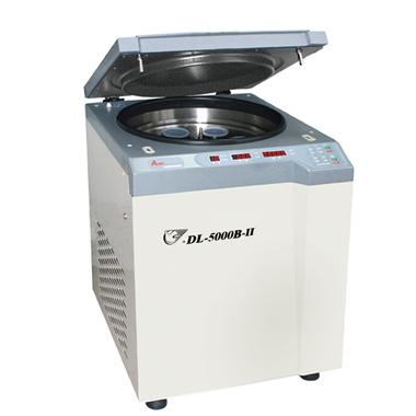 上海安亭DL-6000B低速冷冻大容量管离心机