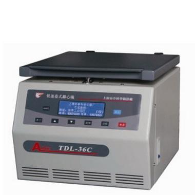 上海安亭TDL-36C低速台式大容量离心机