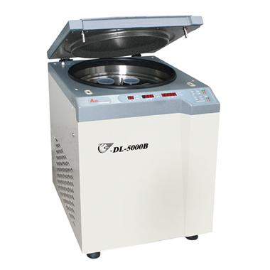 上海安亭DL-5000B低速冷冻大容量管离心机