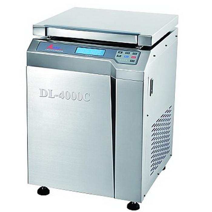 上海安亭DL-4000C低速冷冻大容量离心机
