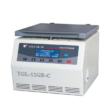 上海安亭TGL-10C高速台式离心机
