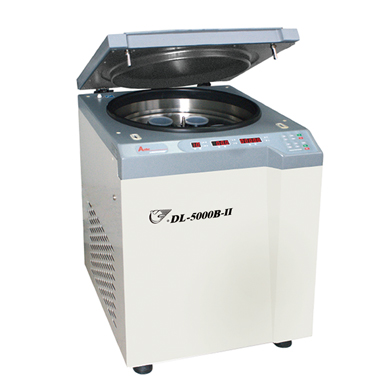上海安亭DL-4000B低速冷冻大容量管离心机