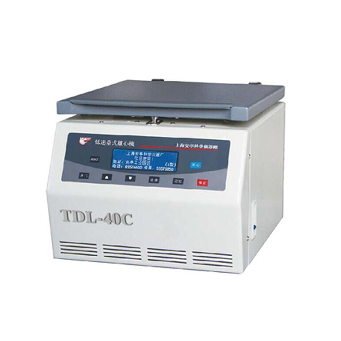 上海安亭TDL-40C低速台式离心机