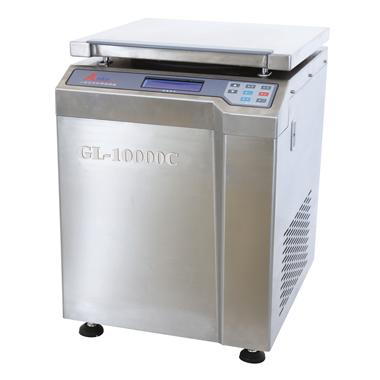 上海安亭GL-10000C高速冷冻大容量离心机