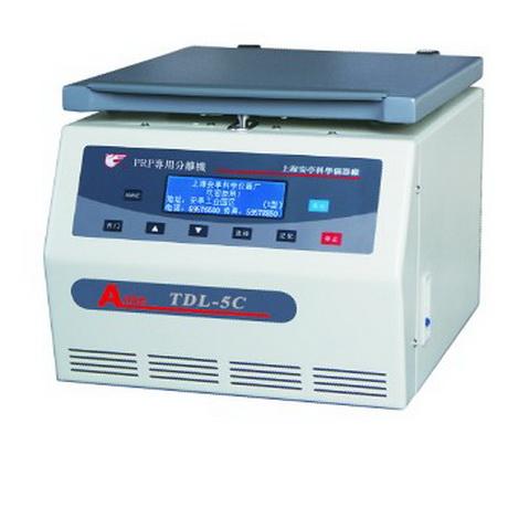 上海安亭TDL-5C低速大容量多管离心机