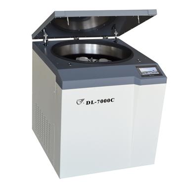 上海安亭DL-7000C大容量冷冻离心机