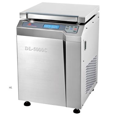 上海安亭DL-5000B-C低速冷冻大容量离心机